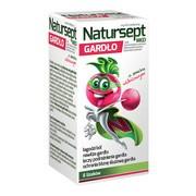 Natursept MED gardło, lizaki o smaku wiśniowym, 6 szt.