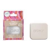 Biovax Botanic, szampon w kostce Malina Moroszka i Baicapil, edycja limitowana z etui, 82 g