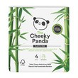 Cheeky panda bambus, papier toaletowy, opakowanie papierowe, 4 szt.