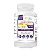 Wish Brahmi Bacopa Monnieri 200 mg, kapsułki, 120 szt.