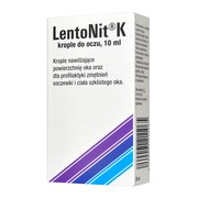 LentoNit K, krople do oczu, 10 ml