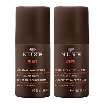 Nuxe Men Duo, dezodorant w kulce, 50 ml x 2 opakowania