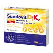 SundovitD3+K2, tabletki, 30 szt.