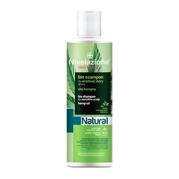 Nivelazione Skin Therapy Natural, Bio szampon do wrażliwej skóry głowy, 300 ml