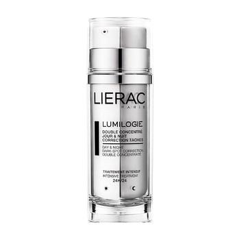 Lierac Lumilogie, dwuetapowy koncentrat korygujący przebarwienia, 15 ml x 2 szt., atomizer