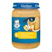 """Gerber """"Szarlotka"""" jabłka z biszkoptem i nutką waniliową, 8 m+, 190 g"""