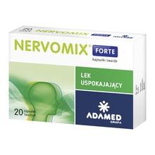 Nervomix Forte, kapsułki twarde, 20 szt.
