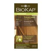 Biokap Nutricolor Delicato+, farba do włosów, 7.33+ pozłacany blond, 140 ml