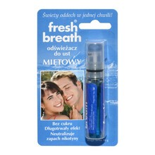 Fresh Breath, odświeżacz do ust, miętowy (FBMI), 1 szt.