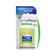 Elgydium Dental Floss Fluoride, nić dentystyczna z fluorem, miętowa, 35 m