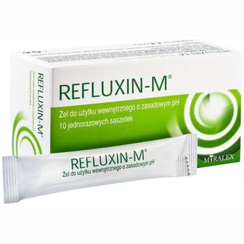 Refluxin-M, żel, 10 ml x 10 saszetek