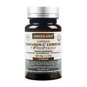 Singularis Curcumin C3 Complex + Bioperine, kapsułki, 30 szt.