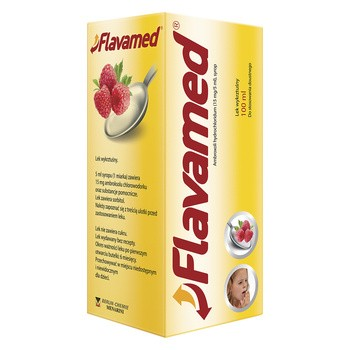 Flavamed, syrop, (15 mg / 5 ml), 100 ml