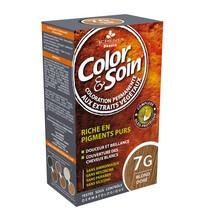Color&Soin, farba do włosów, złocisty blond  (7G), 135 ml