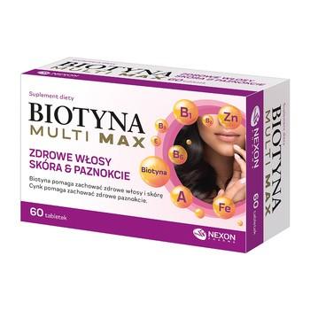 Biotyna Multi Max, tabletki, 60 szt.