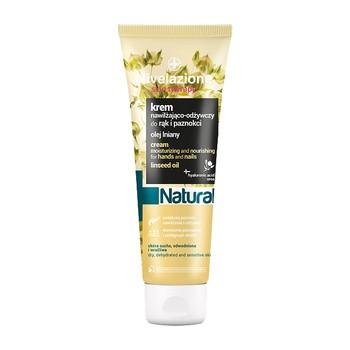 Nivelazione Skin Therapy Natural, nawilżająco-odżywczy krem do rąk i paznokci z olejem lnianym, 100 ml