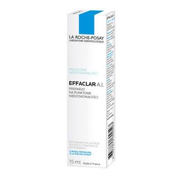 La Roche-Posay Effaclar A.I., krem na punktowe zmiany trądzikowe, 15 ml