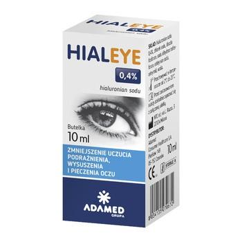 Hialeye, 0,4%, krople do oczu, 10 ml