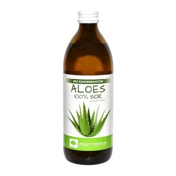 Aloes, sok z aloesu, 500 ml (Alter Medica)