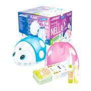 Zestaw Promocyjny Novama Nella by Flaem, inhalator dla dzieci + Vitammy Smile Lew, szczoteczka soniczna dla dzieci