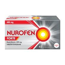 Nurofen Forte, 400 mg, tabletki powlekane, 48 szt.