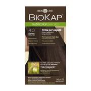 Biokap Nutricolor Delicato, farba do włosów, 4.0 naturalny brąz, 140 ml
