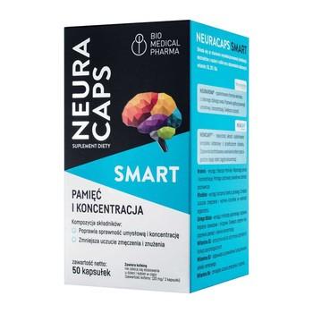 NeuraCaps Smart, kapsułki twarde, 50 szt.