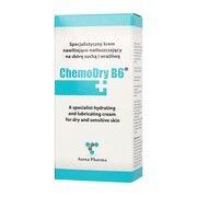 ChemoDry B6, krem nawilżająco-natłuszczający do skóry suchej i wrażliwej, 50 ml