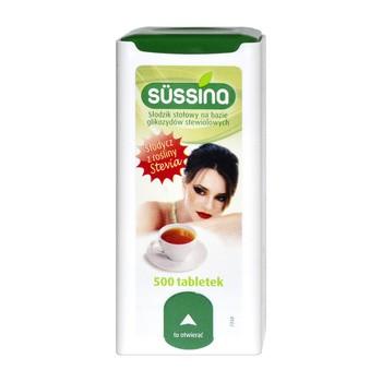 Sussina Stevia , słodzik, tabletki, 500 szt.