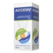 Acodin Duo (Acodin 300) , (15 mg + 50 mg) / 5 ml, syrop, 100 ml