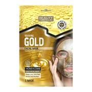 Beauty Formulas, złota maska odżywcza o strukturze plastra miodu, 1 szt