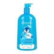 Bioderma ABCDerm Gel moussant, łagodny żel myjący dla dzieci i niemowląt, do włosów oraz całego ciała, 1l