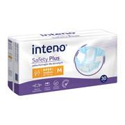 Inteno Safety Plus, pieluchomajtki dla dorosłych, M, 30 szt.