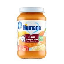 Humana 100% Organic, zupka jarzynowa, bez dodatku soli, 6 m+, 190 g
