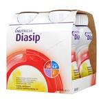 Diasip, płyn o smaku waniliowym, 4 x 200 ml