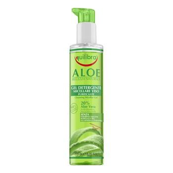 Equilibra, aloesowy oczyszczający żel micelarny, 200 ml