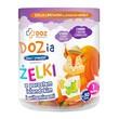 DOZ PRODUCT Dozia, żelki z porostem islandzkim i witaminami o smaku czarnej porzeczki, 225 g