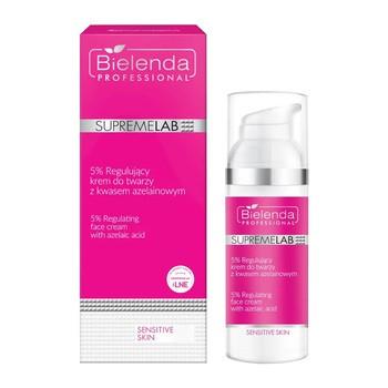 Bielenda Professional SupremeLAB Sensitive Skin 5%, regulujący krem do twarzy z kwasem azelainowym, 50 ml