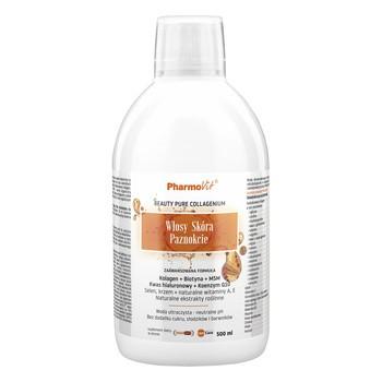 Pharmovit Włosy Skóra Paznokcie, płyn, 500 ml