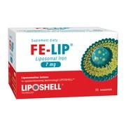 FE-LIP Liposomal Iron, 7 mg, saszetki, 30 szt.