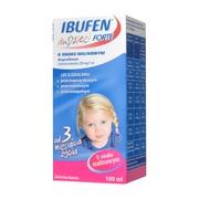 Ibufen dla dzieci FORTE o smaku malinowym, 200 mg/5 ml, zawiesina doustna, 100 ml