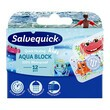 Salvequick Aqua Block Kids, plastry, 12 szt.