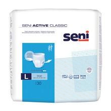 Seni Active Classic, majtki chłonne, large, 30 szt.