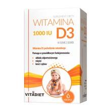 Witamina D3 1000 IU, krople, 29,4 ml