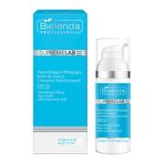 Bielenda Professional SupremeLAB Hydra-Hyal2 Injection, nawadniająco-liftingujący krem do twarzy z kwasem hialuronowym SPF 15, 50 ml