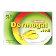 Gal Dermogal A + E, twist off, kosmetyki w kapsułkach, 48 szt.