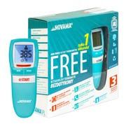 Termometr Novama Free, NT17, bezdotykowy, akwamaryna, 1 szt.
