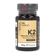 Witamina K2 MK-7 200 µg VitaMedicus, kapsułki, 30 szt.