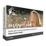 ALLERGY-Check, szybki test do wykrywania przeciwciał IgE (alergia), 1 szt.