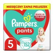 Pampers Pants 5 (12-17 kg), pieluchomajtki jednorazowe, 152 szt.